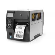 Stampante Zebra ZT410 T; termica diretta, trasferimento termico; bluetooth/LAN/rs232 db9 (seriale)/usb