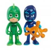 Set 2 figurine Sopi cu lumini si Ninja Nocturnul - Eroi in Pijama
