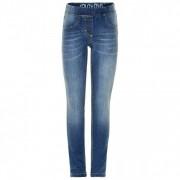 Minymo - Kid's Basic 37 Molly Leggings - Jean taille 110, bleu/gris