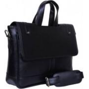 Home Story 15.6 inch Laptop Messenger Bag(Black)