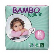 BAMBO NATURE 6 Maxi X-Plus - 16 à 30 kg - 22 langes