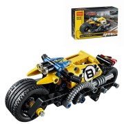 DECOOL 3419 Technic Stunt Bike Building Blocks Toys Bricks Kids Model Kids Toys Compatible Legoe