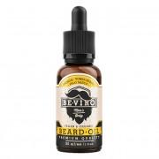 beviro Pečující olej na vousy s vůní vanilky, palo santo a tonkových bobů (Beard Oil) 30 ml