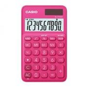 Calculator de birou Casio SL-310UC, 10 digits, rosu