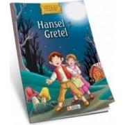 Povesti clasice de colorat - Hansel si Gretel