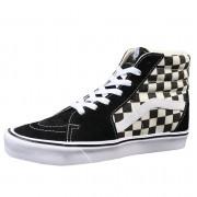 boty VANS - UA SK8-HI LITE (Checkerboard) - Black/White - VN0A2Z5Y5GX