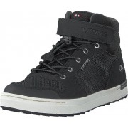 Viking Tonsen Mid Kids Gtx Black/charcoal, Skor, Sneakers & Sportskor, Höga sneakers, Svart, Grå, Barn, 31