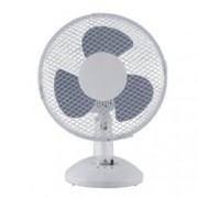 Настолен вентилатор Esperansa ES 1760 DC9, 230 mm диаметър, 2 скорости, регулиране на наклона, 19W, бял