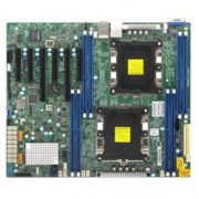 Дънна платка за сървър Supermicro MBD-X11DPL-I-O, 2x LGA 3647, DDR4, 2x LAN, 10x SATA3 Gb/s, RAID (0,1,5,10), 4x USB 2.0, 3x USB 3.0, ATX