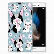 B2Ctelecom Huawei Ascend P8 Lite TPU Hoesje Hondjes