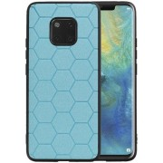 Hexagon Hard Case voor Huawei Mate 20 Pro Blauw