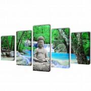 Декоративни панели за стена Буда, 100 x 50 см