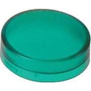 Lentilă simplă verde pentru buton iluminat circular - Butoane si lampi din metal Ø22 - Harmony xb4 - ZBW913 - Schneider Electric