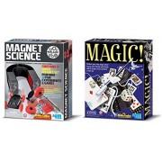 4 M Magnet Science & Magic Set Kit
