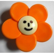 Butoni Mobila Floare Orange