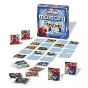 Jocul Memoriei - Spiderman. Obiectivul jocului este sa aduni cat mai multe perechi de carti.