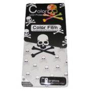 Преден и заден протектор за Apple iPhone 4/4S Color Skull