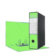 Esselte Registratore Oxford Modello Protocollo Dorso 8,0 Cm Colore Verde Lime