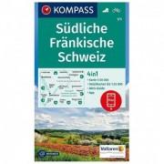 Kompass - Südliche Fränkische Schweiz - Wandelkaarten Karte / Gefaltet / Geklebt