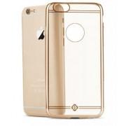 iPhone 6 Plus/ 6S Plus Totu Design Premium Range of Soft & Flexible TPU Protective Back Case Cover (iPhone 6/6S Plus, Gold)