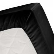 Cinderella hoeslaken - zwart - 180x200 cm - Leen Bakker