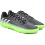 ADIDAS MESSI 16.3 IN Football Shoes For Men(Black, Green)