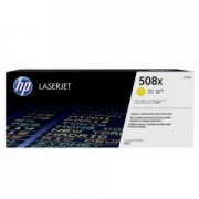 HP 508X High Yield Yellow Original LaserJet Toner Cartridge (CF362X)