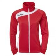 Kempa Damen-Trainingsjacke PEAK - rot/weiß | S