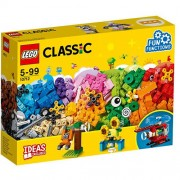 Set de constructie LEGO Classic Caramizi si Roti Variate