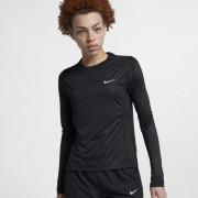 Hautà manches longues Nike Miler pour Femme - Noir
