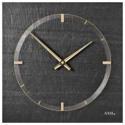 AMS 9516 Wandklok Leisteen - Aluminium