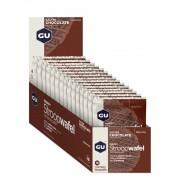 GU Energy StroopWafel Sportvoeding met basisprijs Salted Chocolate 16 x 30g 2018 Sportvoeding