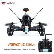 Walkera F210 3D edicion murciana de carreras de drone y DEVO 7 - negro + naranja