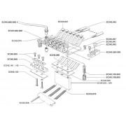 Accesorii piese pentru tremolo sistem tip Floyd Rose Schaller