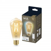 WiZ Filament edisonlamp - Wi-Fi- wittinten - ST64/E27