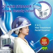 V and G O3 Ozone Salon Hair Steamer Facial Steamer Care Aromatherapy SPA Treatment Face