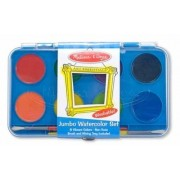 Acuarele Jumbo set de 8 culori cu pensula