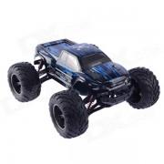 1:12 40KMH coche RTR 2.4GHz Monster Truck RC - Azul + Negro