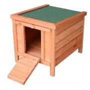 PawHut - Coelheira de exterior de madeira - PAWHUT