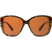 Slaughter & Fox Over-sized Sunglasses(Brown)