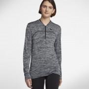 Haut de golfà demi-zip Nike Dry pour Femme - Gris