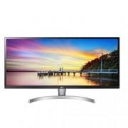 """Монитор LG 34WK650-W, 34"""" (86.36 cm) IPS панел, UWHD, 5 ms, 1000:1, 240cd/m2, DisplayPort, HDMI, черен/сребрист"""