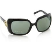 GUCCI Round Sunglasses(Green)