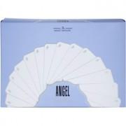 Mugler Angel coffret XVII. Eau de Parfum 25 ml + leite corporal 100 ml + gel de duche 30 ml + bolsa de cosméticos 28 x 7,5 x 17 cm