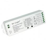 Univerzális LED szalag vezérlő, 5in1, RF, SMART, 15A, 12-24V, Mi-Light,