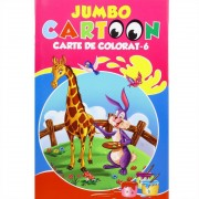 Jumbo cartoon - Carte de colorat nr. 6