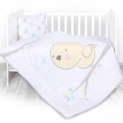 Бебешки спален комплект Lorelli Ранфорс 3 части, пиленце, 0750209