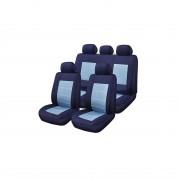Huse Scaune Auto Audi 100 Blue Jeans Rogroup 9 Bucati