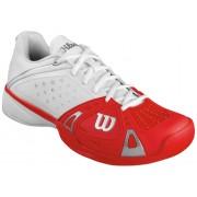 Wilson Tennisschoenen Rush Pro Hard Court wit rood mt 41
