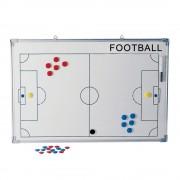 Tremblay tabla antrenor fotbal 90x60 cm, cu magneti si marker